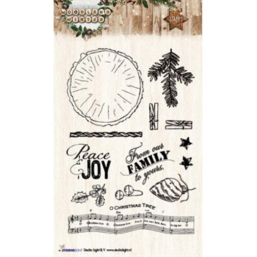 Studio Light Clear Stamp set - STAMPWW193