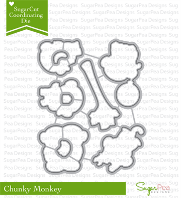 Happymade - SugarPea Designs - Die - Chunky Monkey