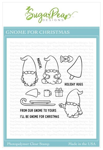 Happymade - SugarPea Designs - Clear Stamp - Gnome for Christmas