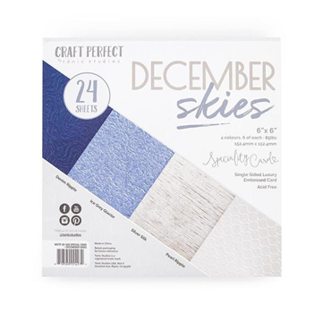 "Happymade - Tonic Studios - Craft Perfect - 6x6"" - December Skies (9427E)"