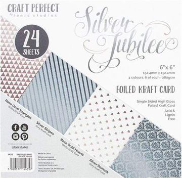 "Happymade - Tonic Studios - Craft Perfect - 6x6"" - Silver Jubilee (9435E)"