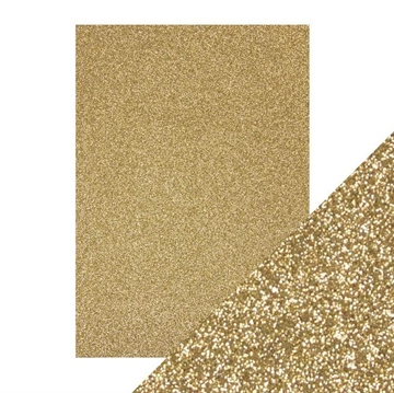 Tonics Studios - Craft Perfect - Glitter Card - Gold Dust (5 ark)