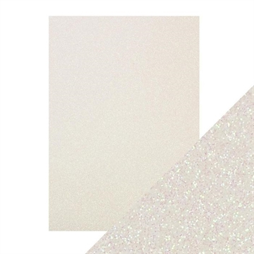 Tonics Studios - Craft Perfect - Glitter Card - Sugar Crystal (5 ark)