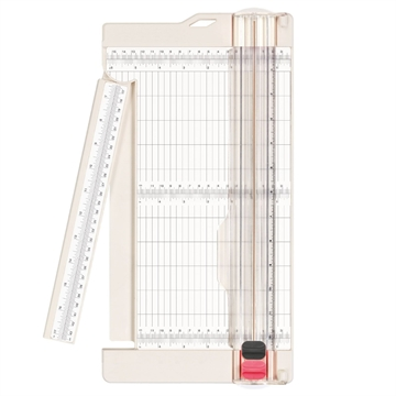 Happymade - Vaessen Creative - Paper Trimmer + Scoring (A4) - Bred