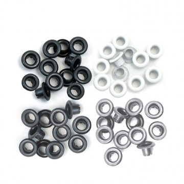 "Happymade - We R Memory Keepers - Eyelets - Grey (3/16"")"
