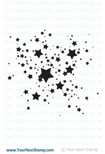 Happymade - Your Next Stamp - Clear stamp - Star Ink Splatter (CYNS309)