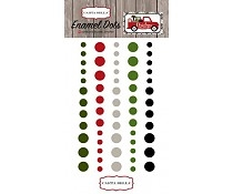 Carta Bella - Enamel dots - Christmas Delivery