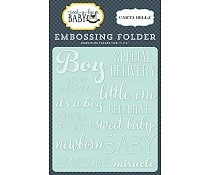 Carta Bella - Embossing folder - Little One Boy
