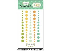 Carta Bella - Enamel dots - It\'s a Boy!