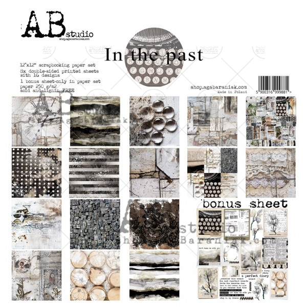 Happymade - AB Studio - Design papers - In The Past - 12x12""