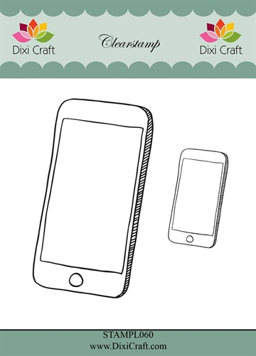 Happymade - Dixi Craft Clear Stamp - STAMPL060 - Smartphones (288860)