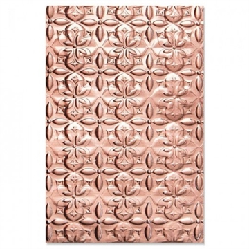 Happymade - Sizzix 3D Embossing folder - Adorned Tile (664426)