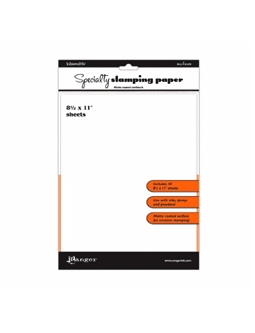 Ranger - Specialty Stamping Paper (10 ark)