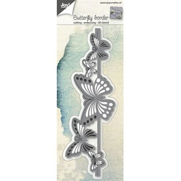 Joy - Die - Butterfly border - 6002/0689