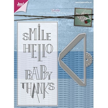 Joy - Clear Stamp w/die - Smile (4006/0007)