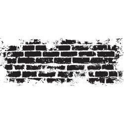 KaiserCraft clear stamp - Brick wall - CS299