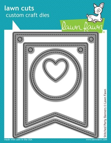Lawn Fawn die set - Stitched Party Banners