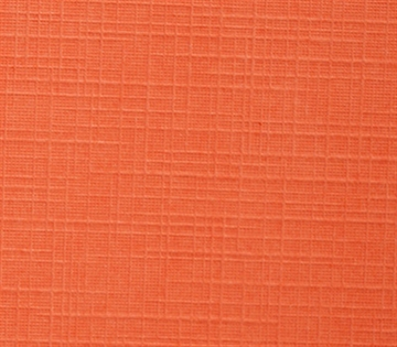 "Basic Craft - Linnen - 12x12"" - Orange"