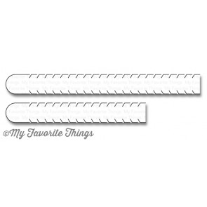 My Favorite Things die set - Essential Sentiment Rip Strips (MFT-1109)