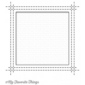My Favorite Things die set - Square Peek-a-boo Window (MFT-1113)