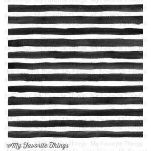 My Favorite Things Watercolor Stripes