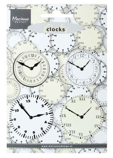 Marianne Design - Clocks - JU0956