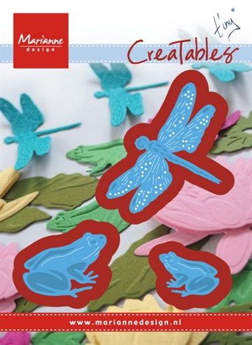 Marianne Design - Die - Frogs and dragonfly