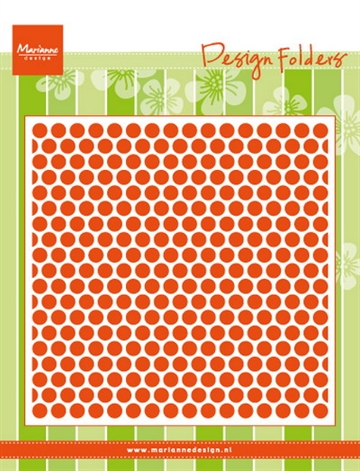 Marianne Design - Embossing folder - Dots