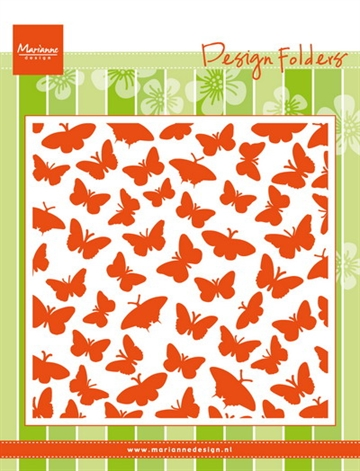 Marianne Design - Embossing folder - Butterflies (DF3433)
