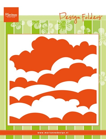 Marianne Design - Embossing folder - Clouds (DF3434)