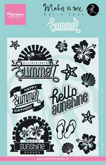 Marianne Design - Clear stamp - Summer