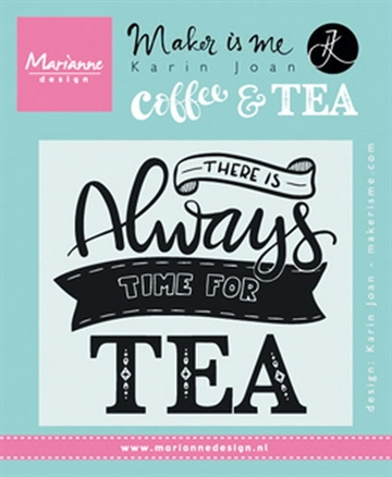 Marianne Design - Clear stamp - Always time for tea