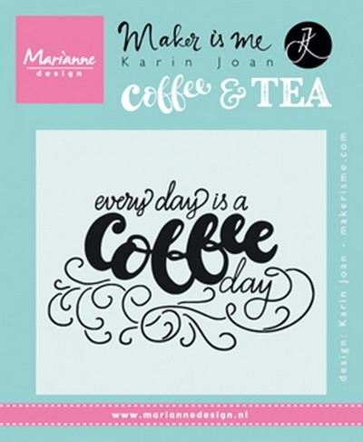 Marianne Design - Clear stamp - Coffee Day