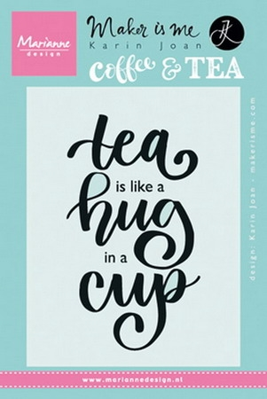 Marianne Design - Clear stamp - Tea Hug Cup