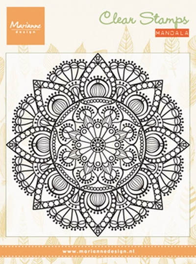 Marianne Design - Clear stamp - Mandala