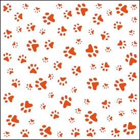 Marianne Design - Embossing folder - Paws (DF3411)