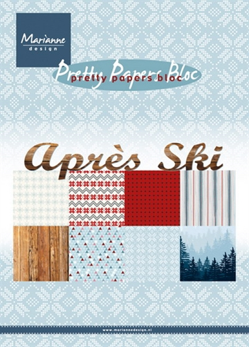 Marianne Design - Pretty Papers Bloc A5 - Aprés Ski - PK9142