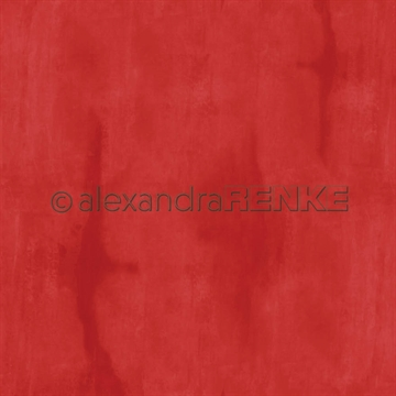 "Happymade - Alexandra Renke - 12x12"" - Calm Persian Red - 10.2204"