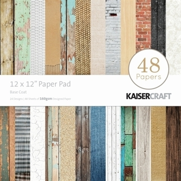 "KaiserCraft paper pad 12x12"" - Base coat"