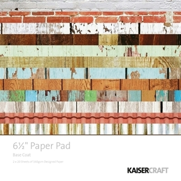 "KaiserCraft paper pad 6½x6½"" - Base coat"