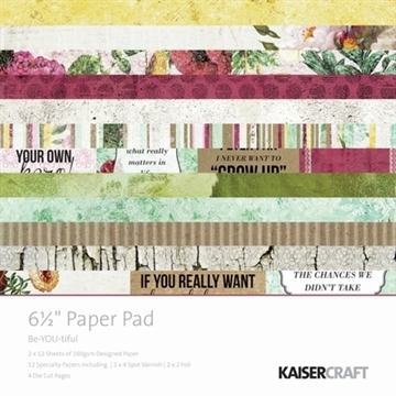 "KaiserCraft paper pad 6½x6½"" - Beyoutiful"