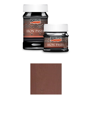 Pentart - Iron Paste - Red brown