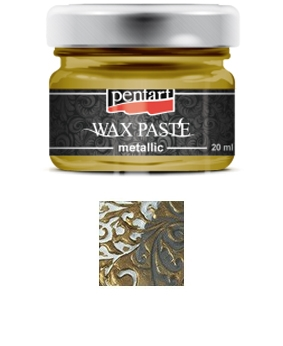 Pentart - Wax Paste - Metallic -  Brass (20ml)