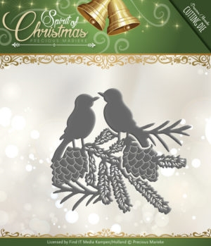 Precious Marieke die - Spirit of Christmas - Spirited Birds - PM10070