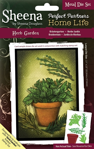 Sheena by Sheena Douglass - Die - Herb Garden