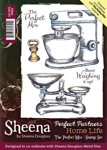 Sheena by Sheena Douglass - Rubber stamp - The Perfect Mix