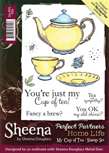 Sheena by Sheena Douglass - Rubber stamp - My Cup of Tea