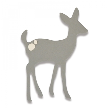 Sizzix Thinlits Die - Cute Deer (661786)