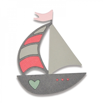 Sizzix Thinlits Die - Ship Away (661796)