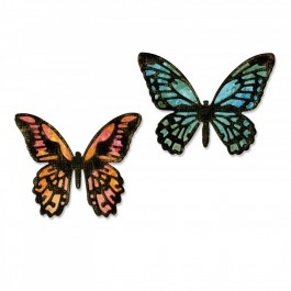 Sizzix Die set - Detailed Butterflies, Mini (661802)